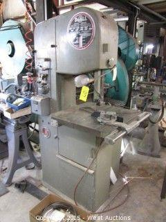 DoAll Variable Speed Metal Bandsaw and Blade Welder